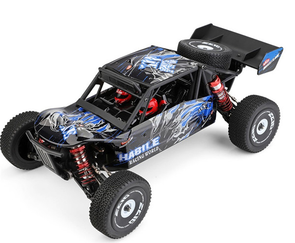 EXPLOROR Wltech WLToys 124018 RC Racing Car Truck and Parts