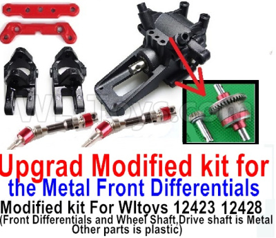 Wltoys 12428 Upgrad Modified kit for the Metal Front