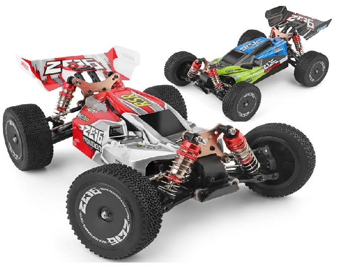 Wltech Wltoys 144001 RC Racing Car Truck and Parts