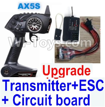 Wltoys A232 A242 A252 Parts-31 Upgrade AX5S Transmitter & Upgrade