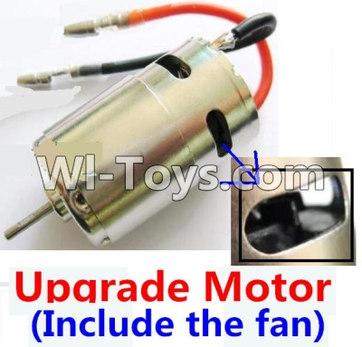 Wltoys A959 Upgrade Brush motor(Include the Fan,can strengthen the
