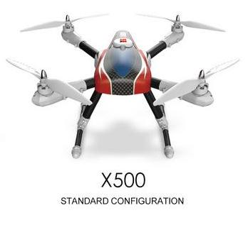 XK X500 RC Quadcopter-Standard configuration(Not included
